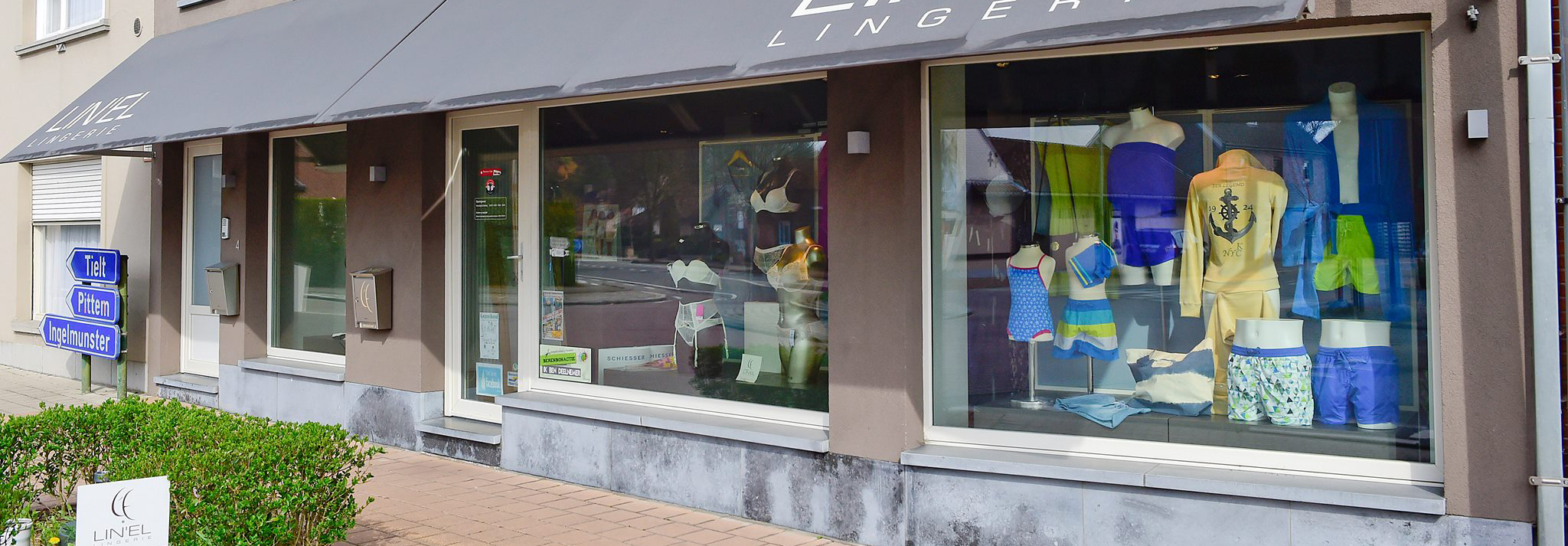 Lingerie winkel
